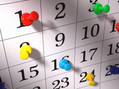 Maggio: programma eventi